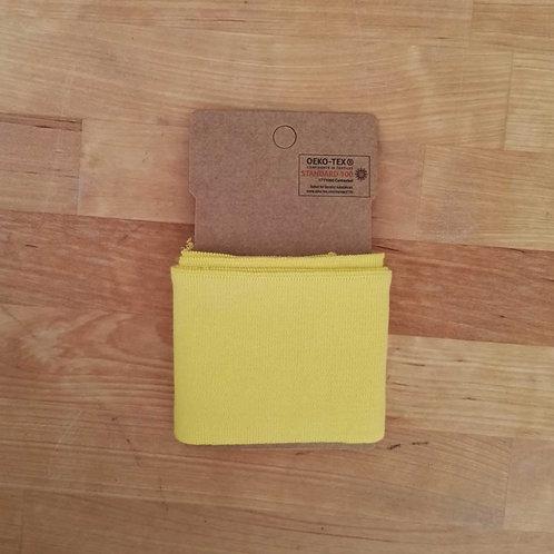 Puño / Cintura Liso. Amarillo