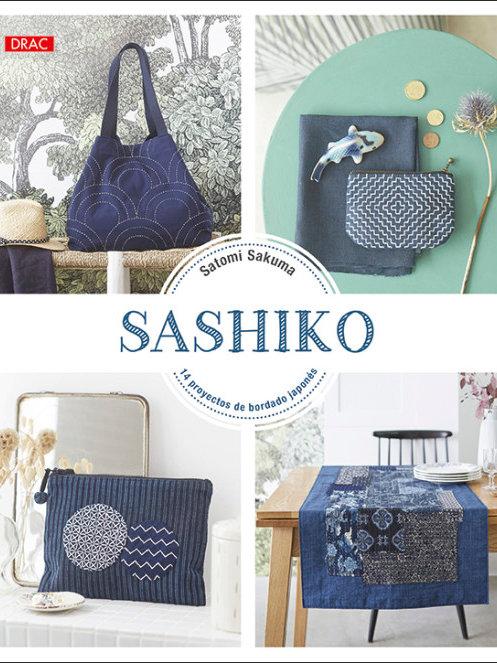 Libro Sashiko de Satomi Sakuma