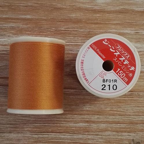Hilo Fujix Jeans Stitch color 210 ocre