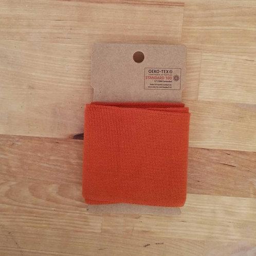 Puño / Cintura Liso. Naranja