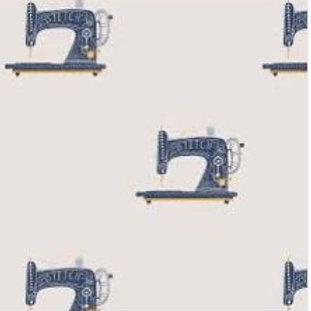 Tela algodón tipo canvas  máquina de coser 25 CM
