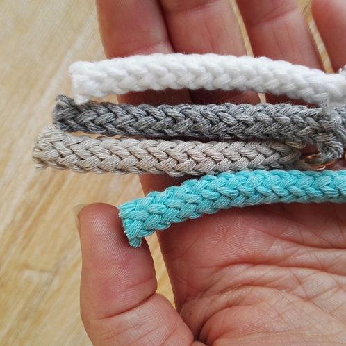 Cordón de algodón 6 mm. Por metro