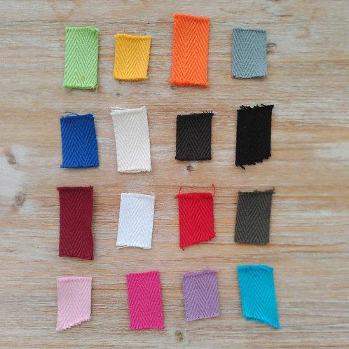 Cinta algodón 30 mm para bolsos METRO