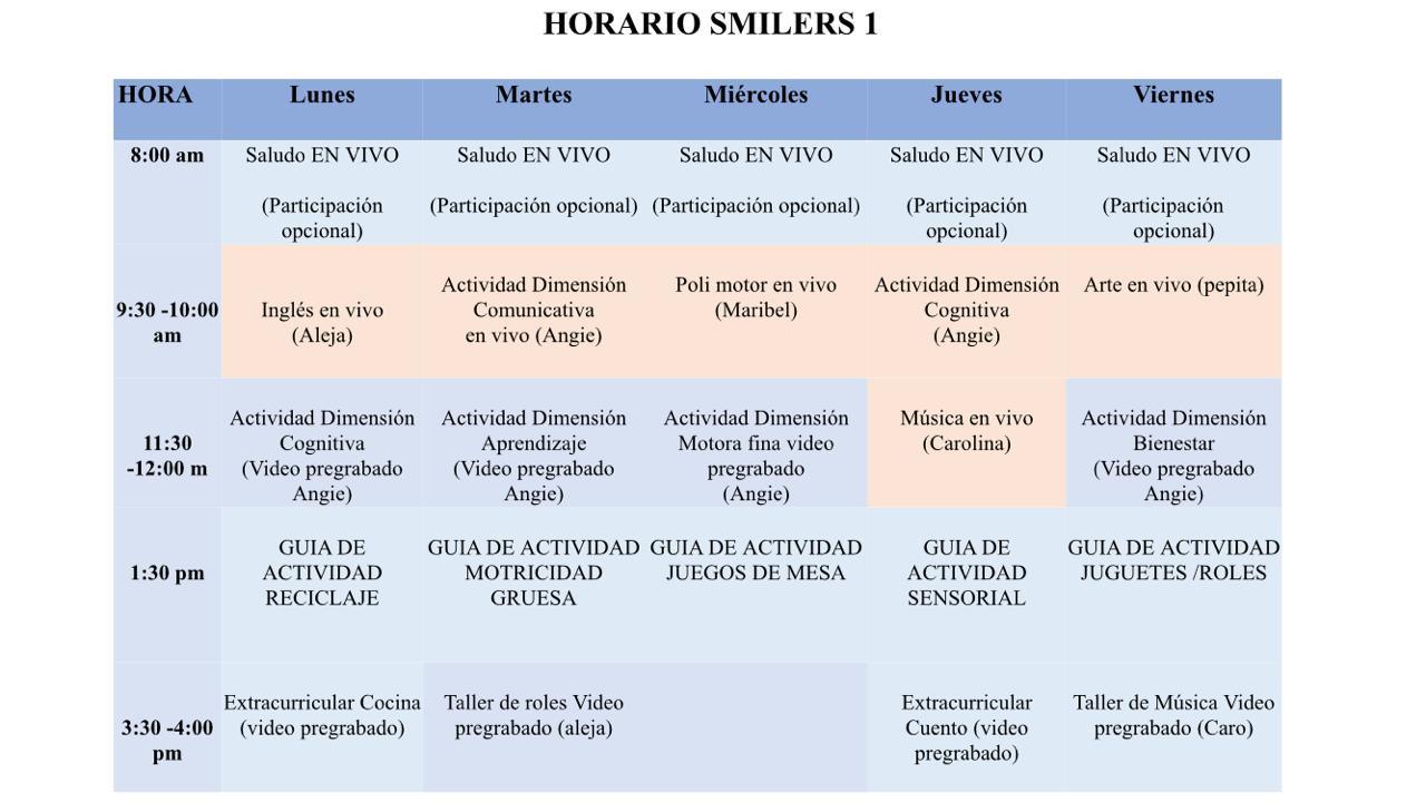 Smilers 1