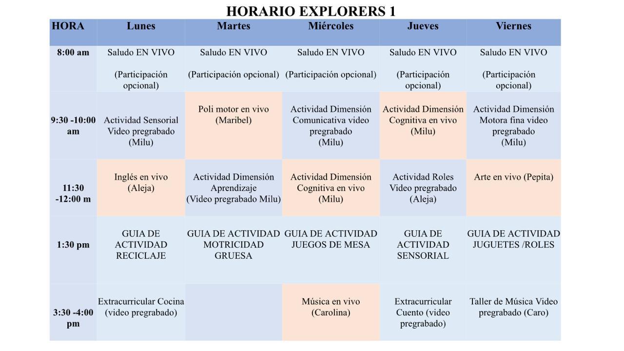 Explorers 1