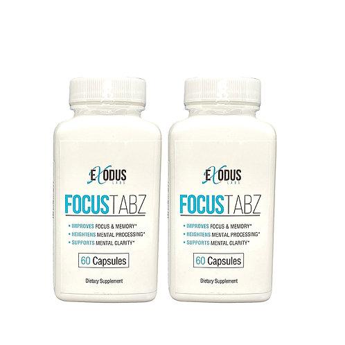 FocusTabz - 2 Month Supply / Brain Memory Booster