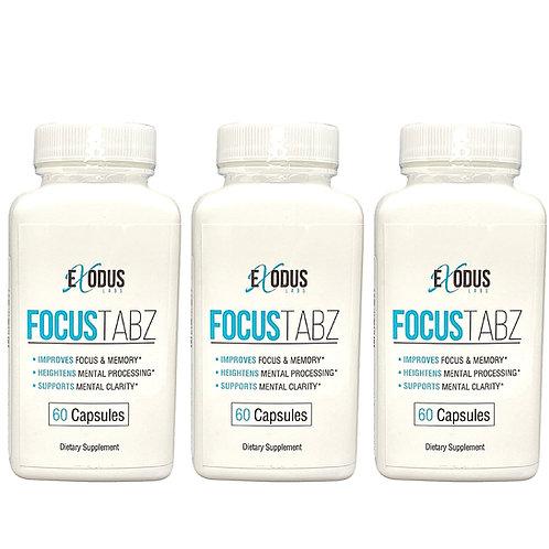 FocusTabz - 3 Month Supply / Brain Health Wellness