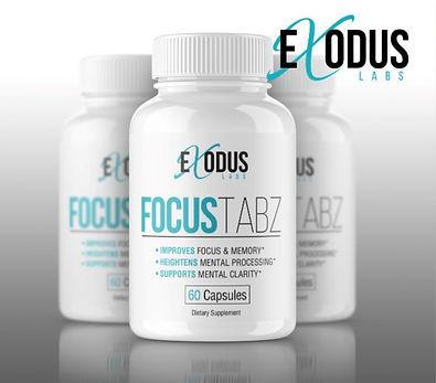 focustabz brain booster mood supplement