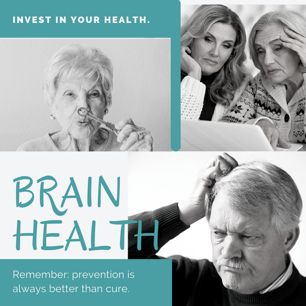 Brain Health-The Importance of having good focus and memory