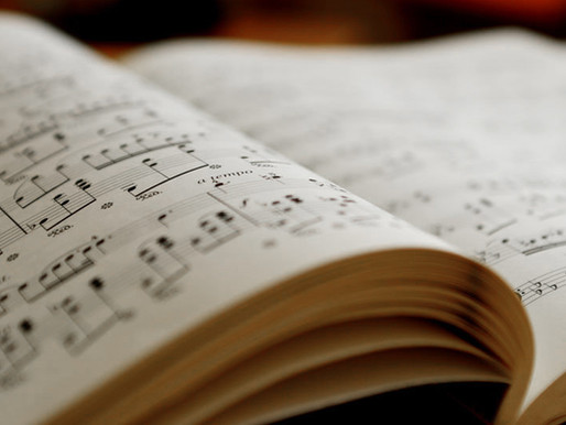 Pages from a music score of silent melodies.