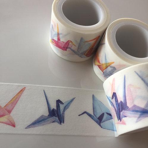 Wide Origami Cranes 30mm