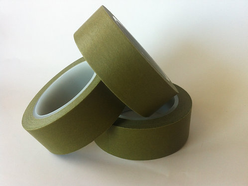 Solid Colour Olive 15mm