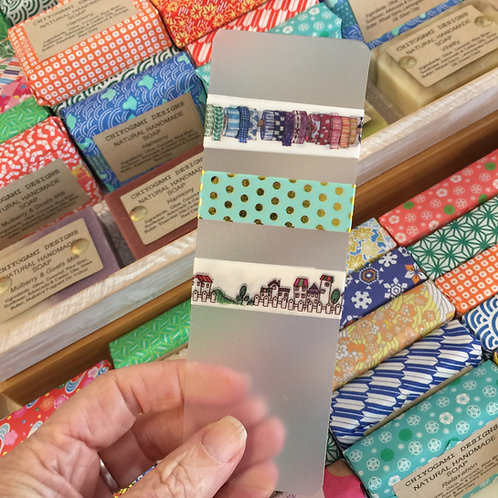 Washi Sample Supplies - PVC Cards - 5 per pack