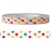 Funtape 6mm Colourful Stars