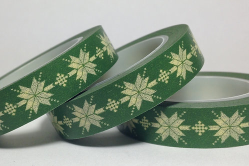 Thin Motif on Green 10mm