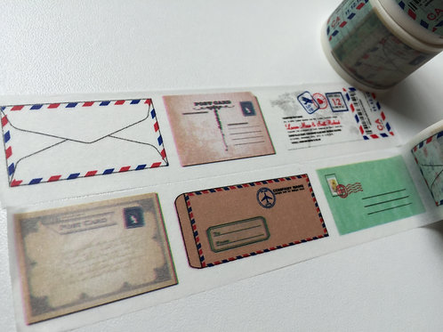 Wide Letters & Postcards 30mm