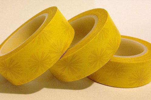 Yellow Burst 15mm