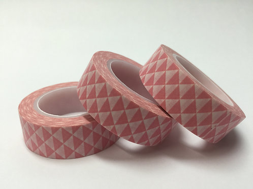 Pink Triangles 15mm
