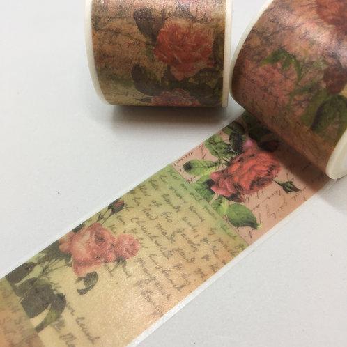 Wide Roses & Script 35mm