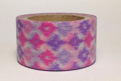 Wide Pink/Lavender Batik