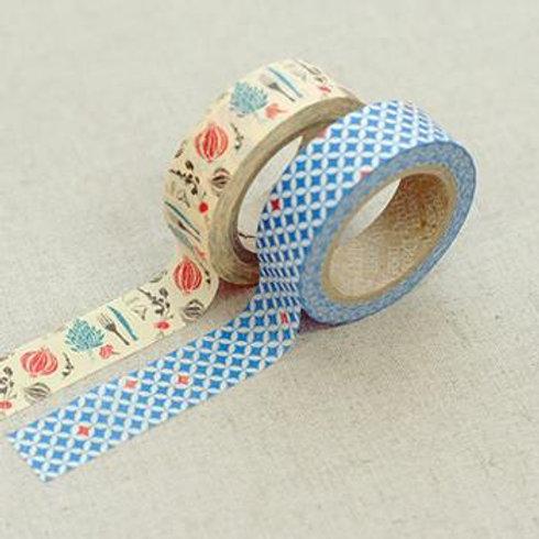 Dailylike Washi Tape - Twin Pack -  Lucy 15mm