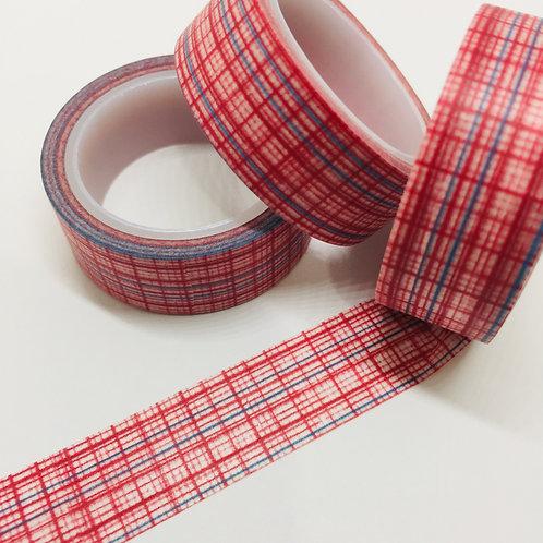 SUPER Value Red & Blue Weave 15mm