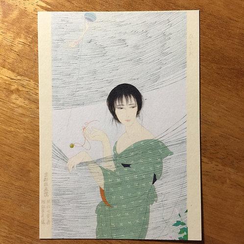 Postcard 'Hirugao'