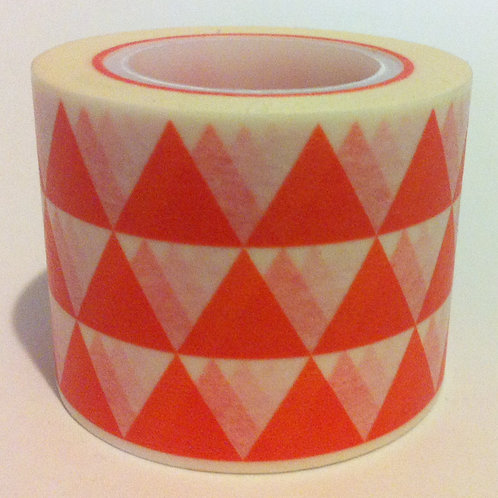 Wide Orange Triangles