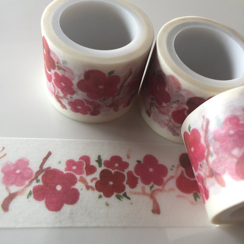Wide Japanese Flower 30mm