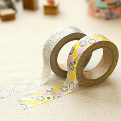 Dailylike Washi Tape - Twin Pack - Promnade 15mm