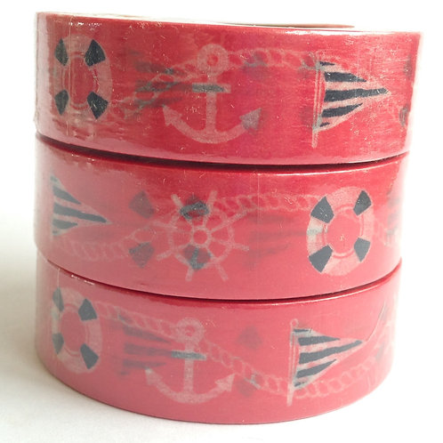 Nautical on Red