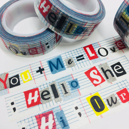 You + Me = Love 15mm