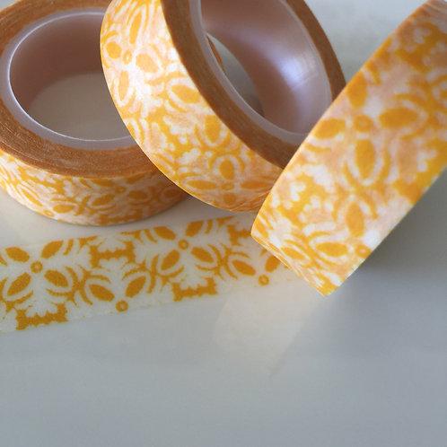 Deep Yellow Motif 15mm