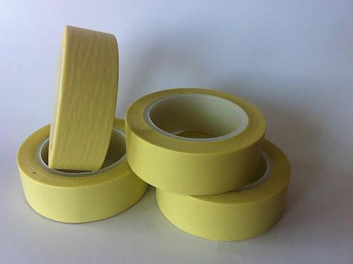 Solid Colour Pale Lemon 15mm