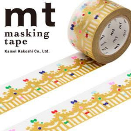 MT Masking Tape x Mina Perhonen - Crown Gold MTMINA24 27mm