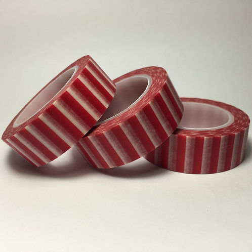 Red Wide Stripe 15mm