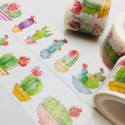 Wide Flowering Cactus - 30mm
