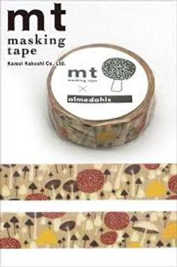 MT Masking Tape x Almedahls - Isvampskogen 15mm MTALME02
