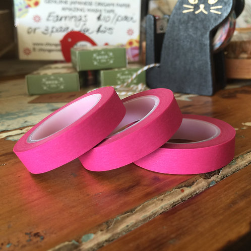 Thin Solid Colour Pink 10mm