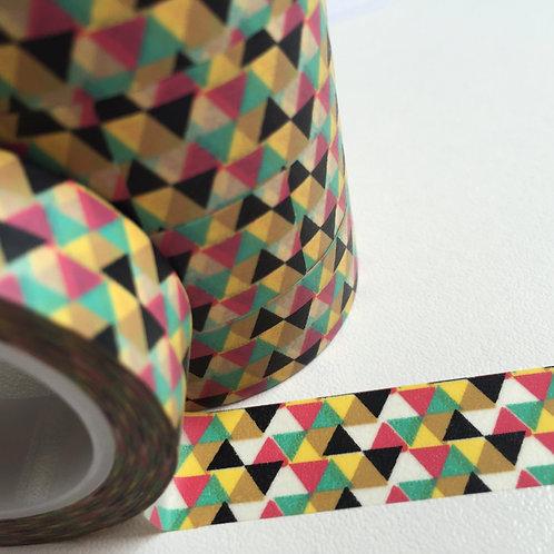 5 Colour Triangles 15mm