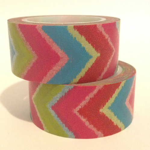 Wide Vibrant Chevron