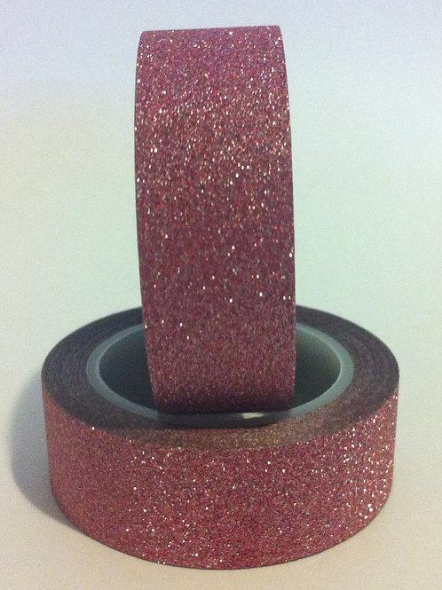 Glitter Tape - Dusty Pink