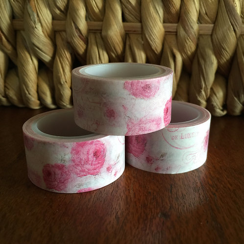 Wide Pink Floral Post 20mm