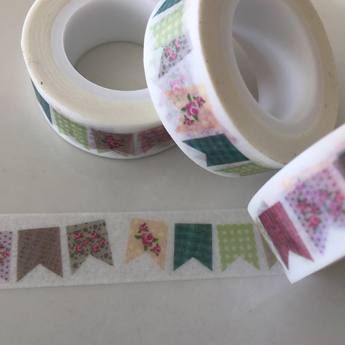 Patchwork Bunting 15mm