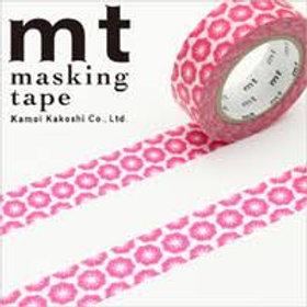 MT Masking Tape Flowers Stamp 15mm MTEX1P125