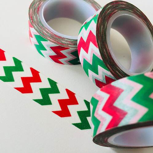 Double Colour Moutains Red & Green 15mm