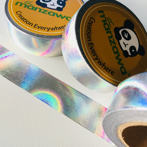 Silver Foil Holographic 15mm