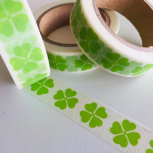 Four Leaf Clover St Patricks 15mm