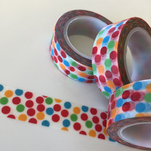 Bold Colour Confetti 15mm