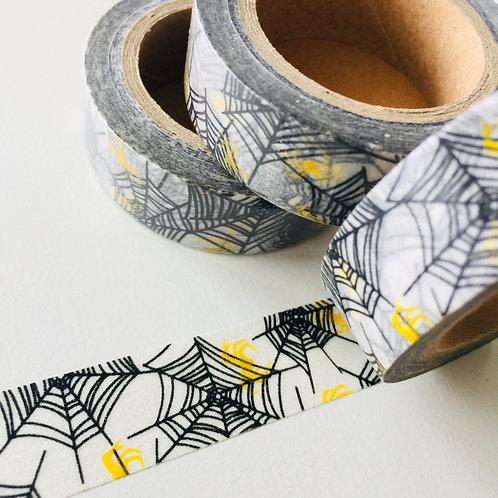 Black Web Lemon Spiders 15mm